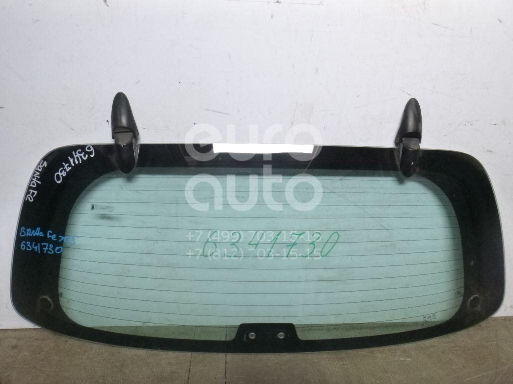 Стекло заднее для Hyundai Santa Fe (SM) 2000-2005 - Фото №1