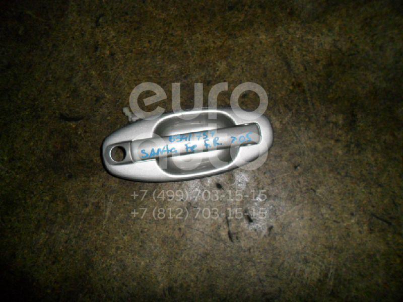 Ручка двери передней наружная правая для Hyundai Santa Fe (SM)/ Santa Fe Classic 2000-2012 - Фото №1