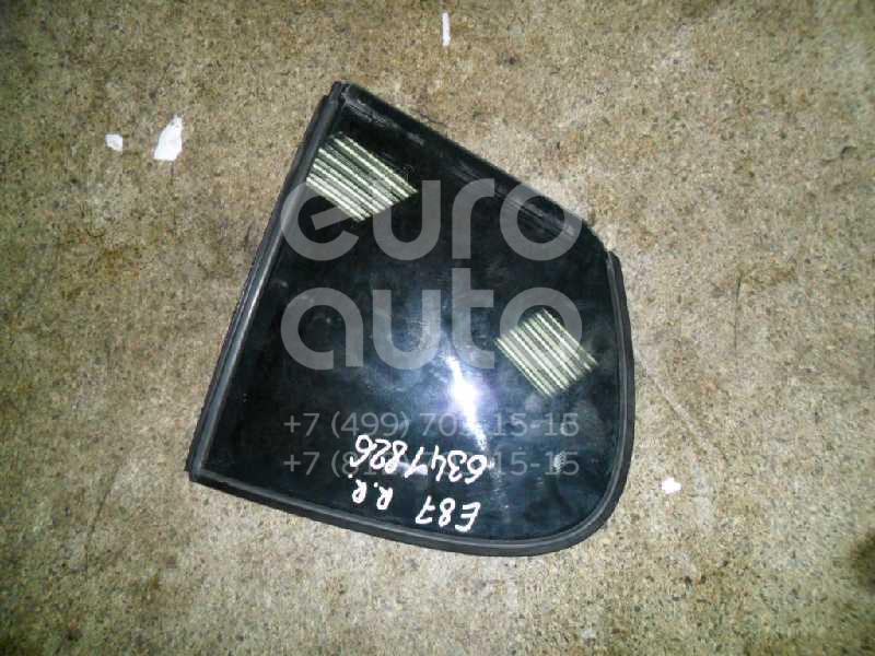 Стекло двери задней правой (форточка) для BMW 1-серия E87/E81 2004-2011 - Фото №1