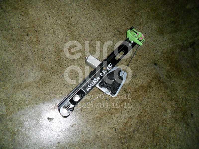 Стеклоподъемник электр. задний правый для BMW 1-серия E87/E81 2004-2011 - Фото №1