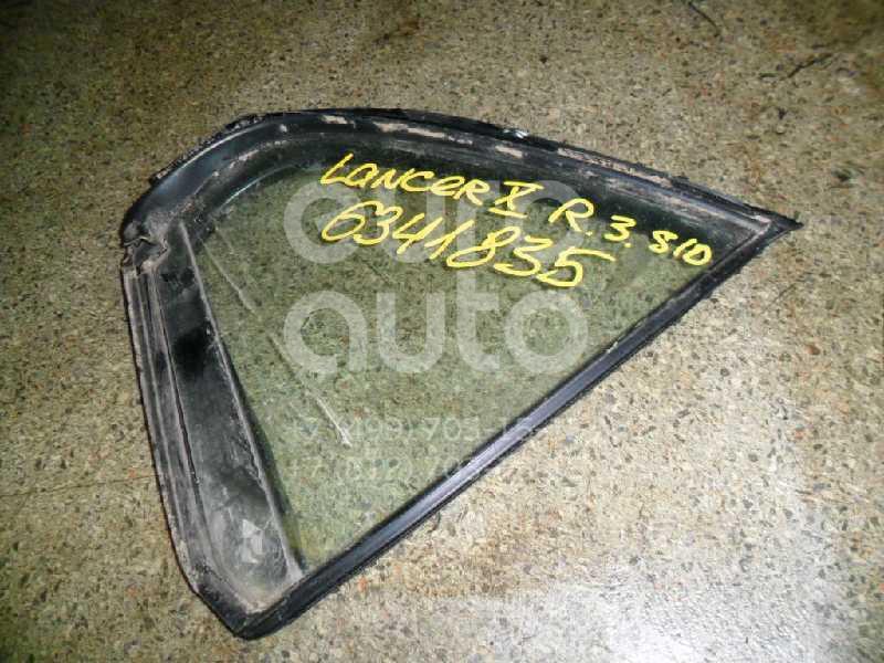 Стекло двери задней правой (форточка) для Mitsubishi Lancer (CX,CY) 2007> - Фото №1