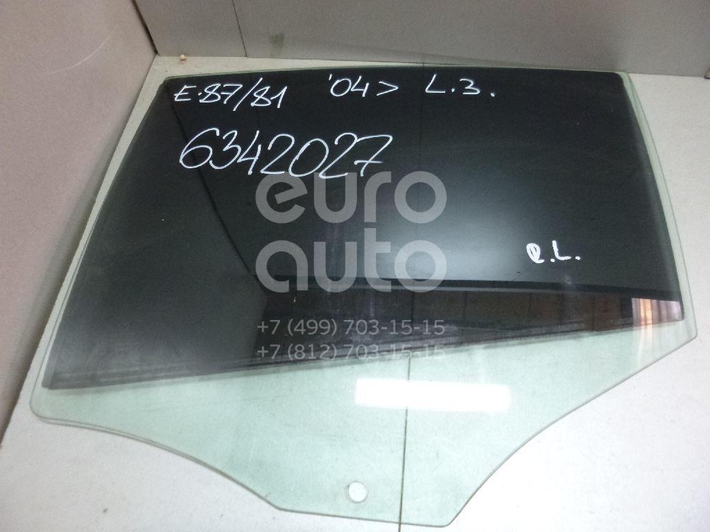 Стекло двери задней левой для BMW 1-серия E87/E81 2004-2011 - Фото №1