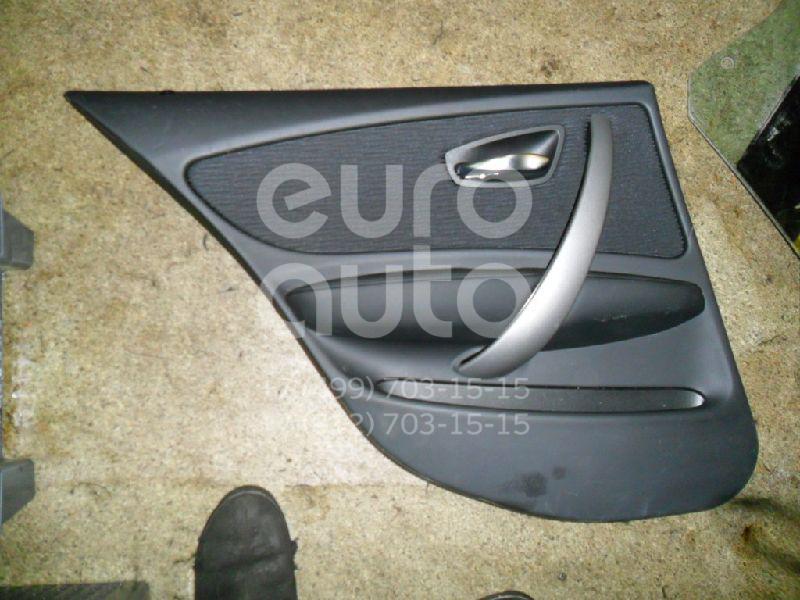 Обшивка двери задней левой для BMW 1-серия E87/E81 2004-2011 - Фото №1