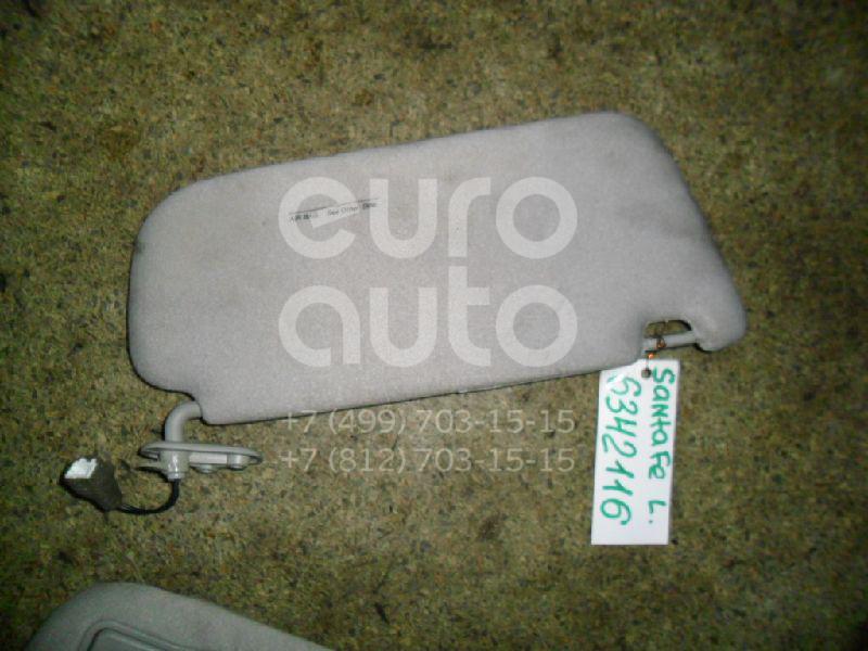 Козырек солнцезащитный (внутри) для Hyundai Santa Fe (SM)/ Santa Fe Classic 2000-2012 - Фото №1