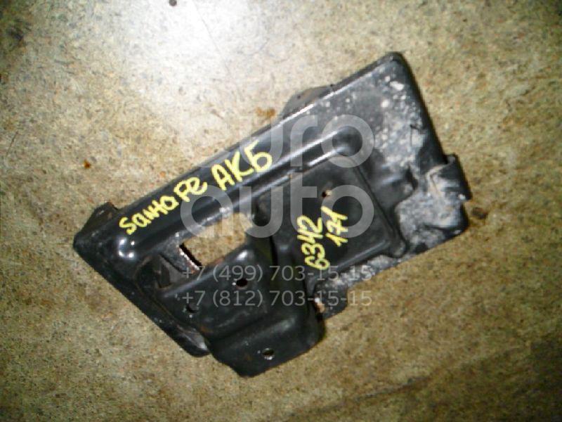 Крепление АКБ (корпус/подставка) для Hyundai Santa Fe (SM) 2000-2005 - Фото №1