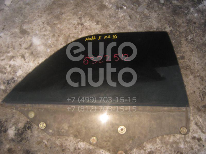 Стекло двери задней правой для Toyota Mark 2 (X10#) 1996-2000 - Фото №1
