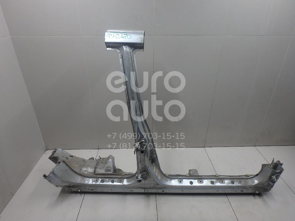 Порог со стойкой правый для Subaru Forester (S10) 2000-2002 - Фото №1