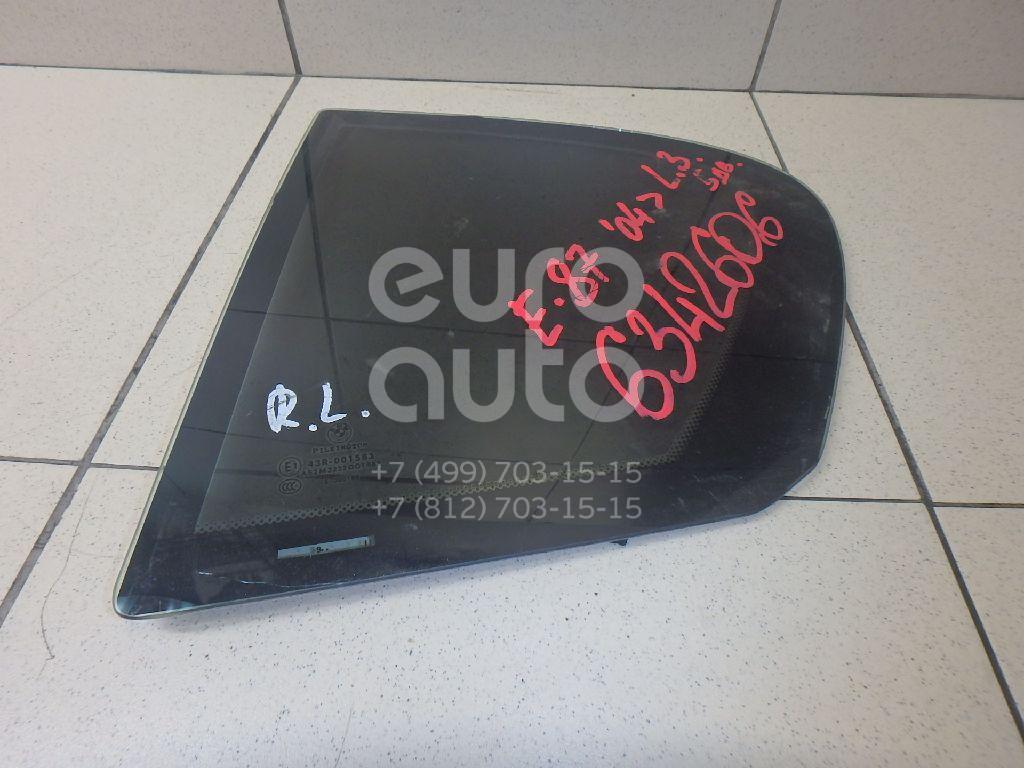 Стекло двери задней левой (форточка) для BMW 1-серия E87/E81 2004-2011 - Фото №1