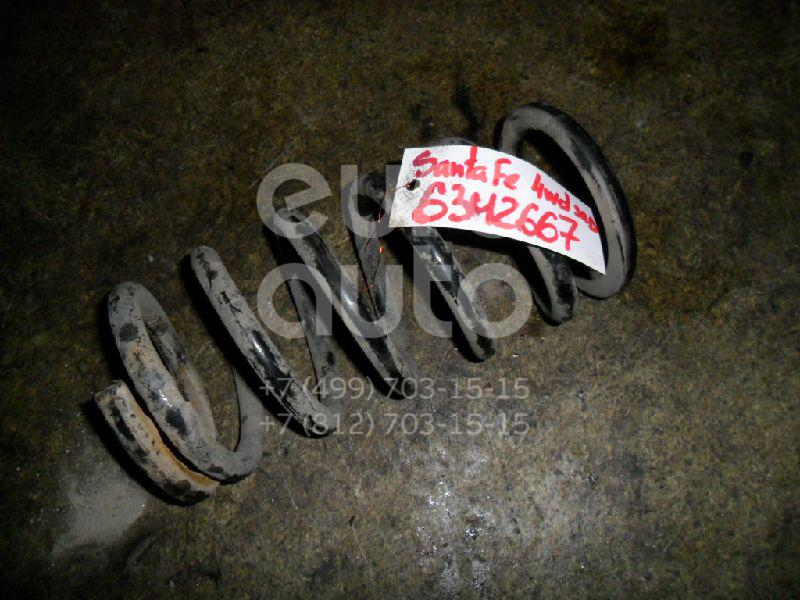 Пружина задняя для Hyundai Santa Fe (SM)/ Santa Fe Classic 2000-2012 - Фото №1