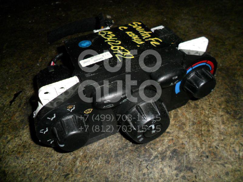 Блок управления отопителем для Hyundai Santa Fe (SM) 2000-2005 - Фото №1
