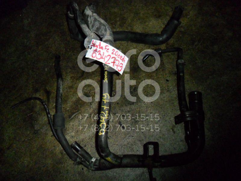 Трубка охлажд. жидкости металлическая для Hyundai Santa Fe (SM)/ Santa Fe Classic 2000-2012 - Фото №1
