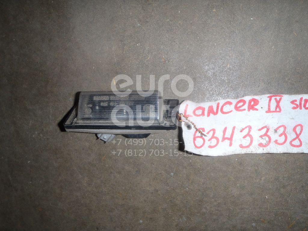 Фонарь подсветки номера для Mitsubishi Lancer (CS/Classic) 2003-2008 - Фото №1