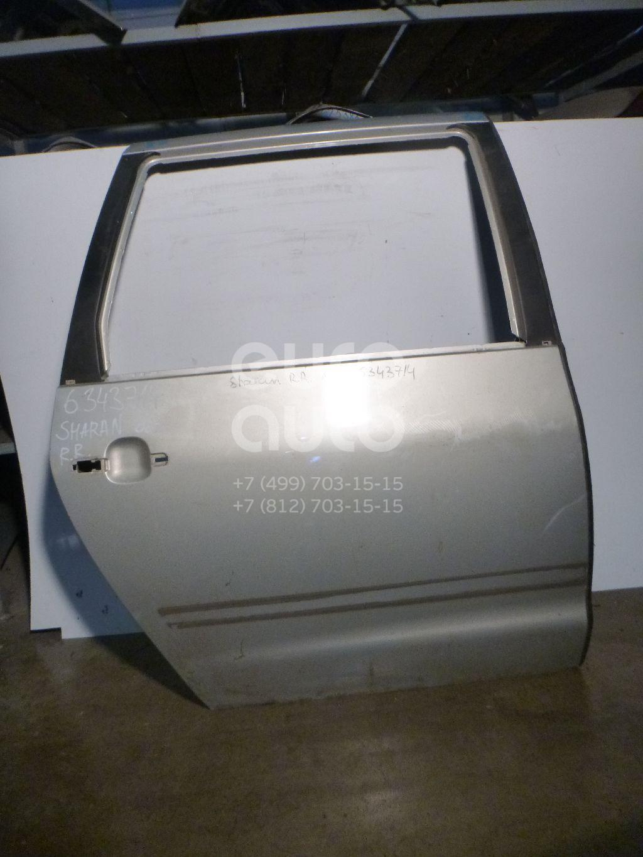 Дверь задняя правая для VW,Seat Sharan 2000-2006;Sharan 2006-2010;Alhambra 2001-2010 - Фото №1