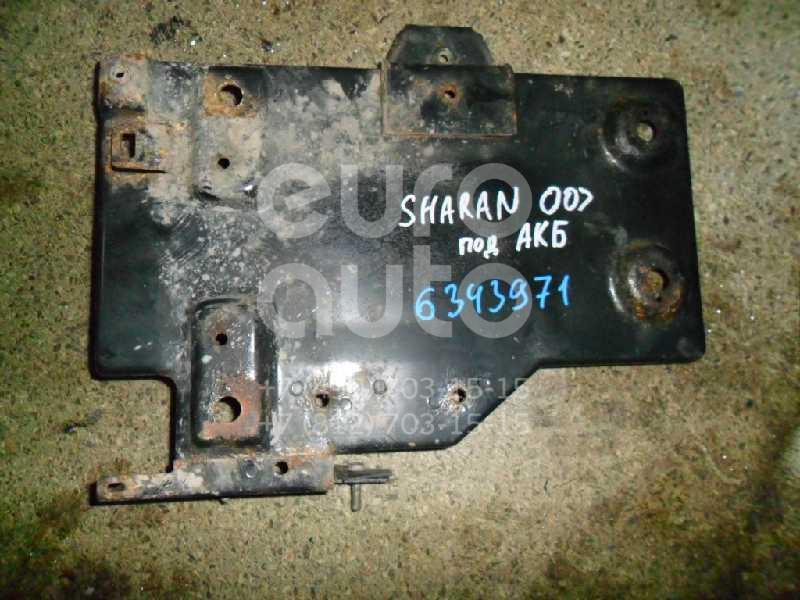Крепление АКБ (корпус/подставка) для VW,Seat Sharan 2000-2004;Sharan 2004-2010;Alhambra 2000-2010 - Фото №1