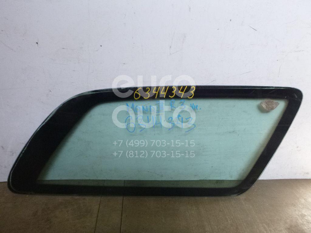 Стекло кузовное глухое правое для Ford Mondeo II 1996-2000 - Фото №1