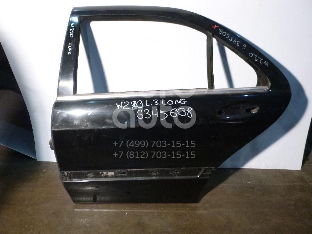 Дверь задняя левая для Mercedes Benz W220 1998-2005 - Фото №1