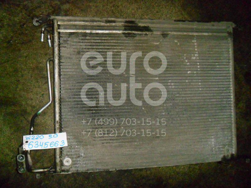 Радиатор кондиционера (конденсер) для Mercedes Benz W220 1998-2005 - Фото №1