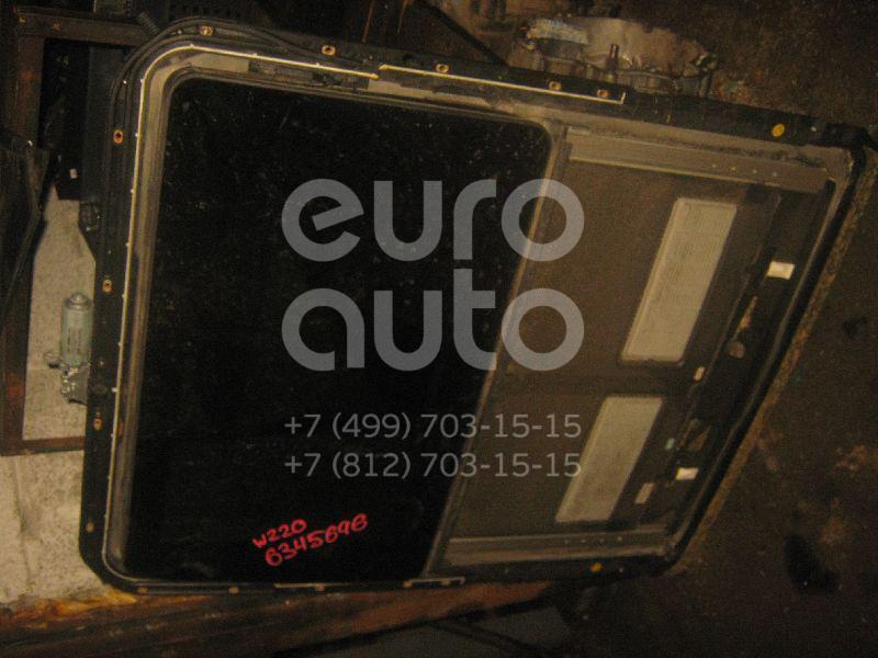 Люк в сборе электрический для Mercedes Benz W220 1998-2005 - Фото №1