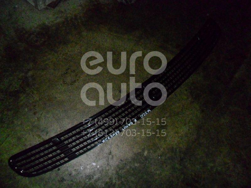 Решетка в капот для Mercedes Benz W220 1998-2005 - Фото №1