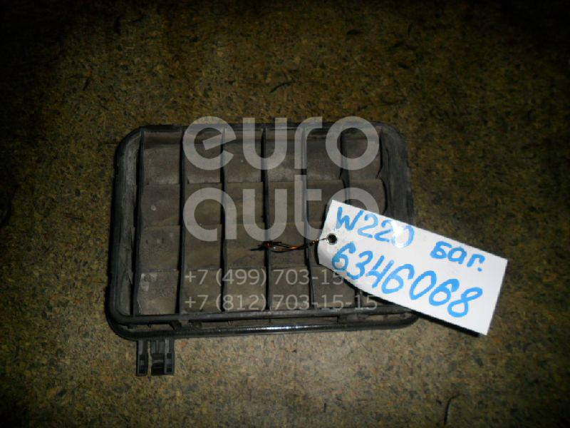 Решетка вентиляционная для Mercedes Benz W220 1998-2005;C208 CLK coupe 1997-2002;W215 coupe 1999-2006 - Фото №1