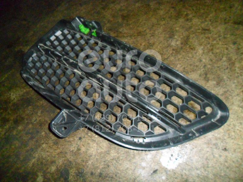 Решетка в бампер левая для VW Touareg 2002-2010 - Фото №1