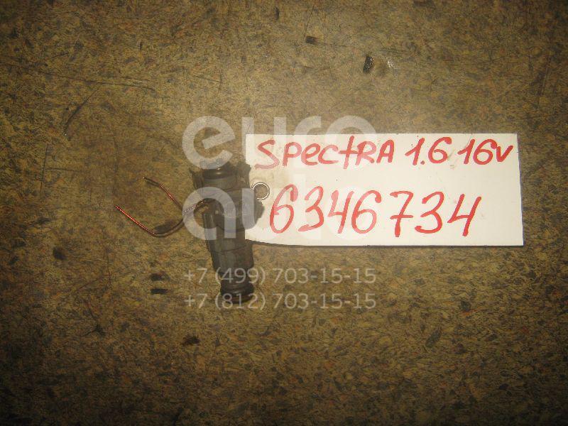 Форсунка инжекторная электрическая для Kia Spectra 2001-2011;Sephia II/Shuma II 2001-2004;Carens 2002-2006 - Фото №1