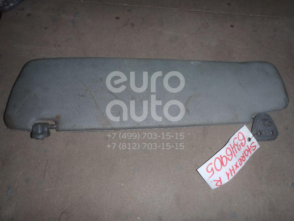 Козырек солнцезащитный (внутри) для Hyundai Starex H1 1997-2007;H-200 1997> - Фото №1