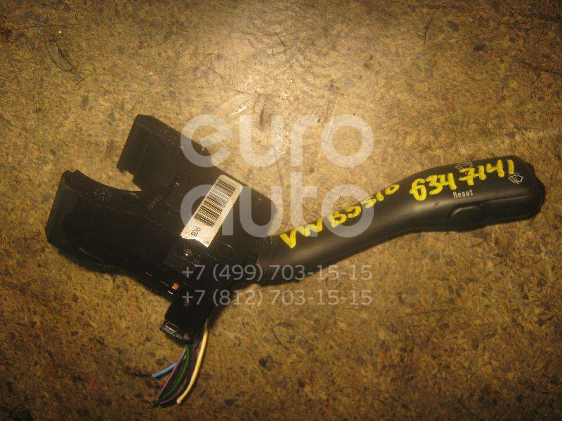 Переключатель стеклоочистителей для VW,Audi,Skoda,Seat Passat [B5] 1996-2000;A2 [8Z0] 2000-2005;A6 [C4] 1994-1997;TT(8N) 1998-2006;Octavia (A4 1U-) 2000-2011;Leon (1M1) 1999-2006;Toledo II 1999-2006;Octavia 1997-2000;Golf IV/Bora 1997-2005;A6 [C5] 1997-2004 - Фото №1