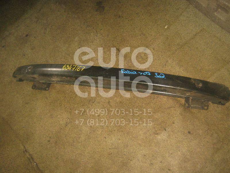 Усилитель заднего бампера для Skoda Fabia 1999-2006 - Фото №1