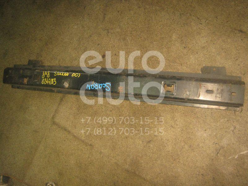 Усилитель заднего бампера для VW,Seat Sharan 2000-2006;Sharan 2006-2010;Alhambra 2001-2010 - Фото №1