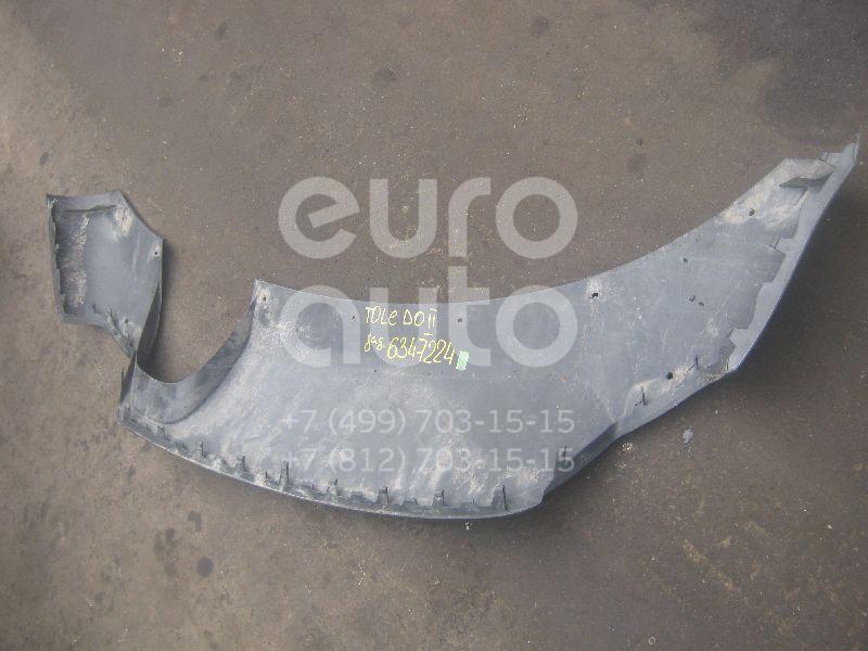 Юбка задняя для Seat Toledo II 1999-2006 - Фото №1