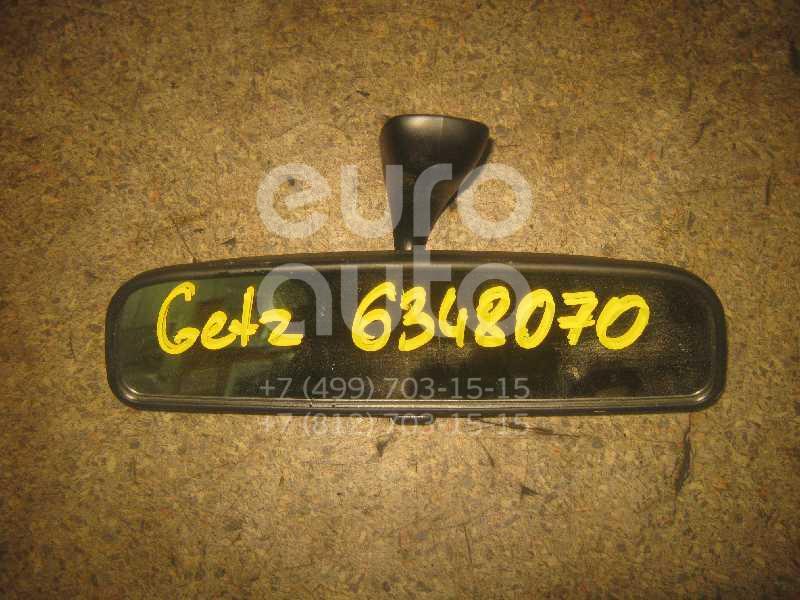 Зеркало заднего вида для Hyundai Getz 2002-2010;Sonata V (NEW EF) 2001>;Picanto 2005-2011;Accent II (+ТАГАЗ) 2000-2012 - Фото №1