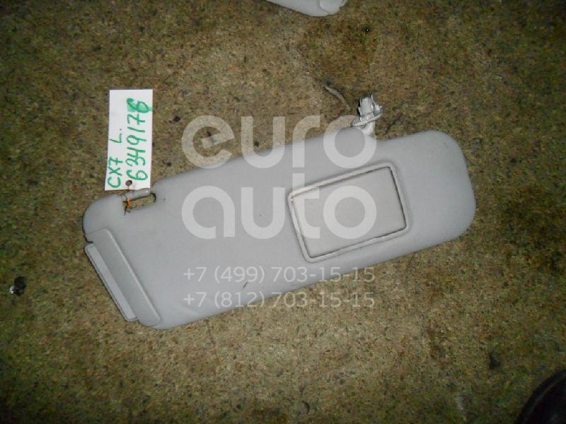 Козырек солнцезащитный (внутри) для Mazda CX 7 2007-2012 - Фото №1