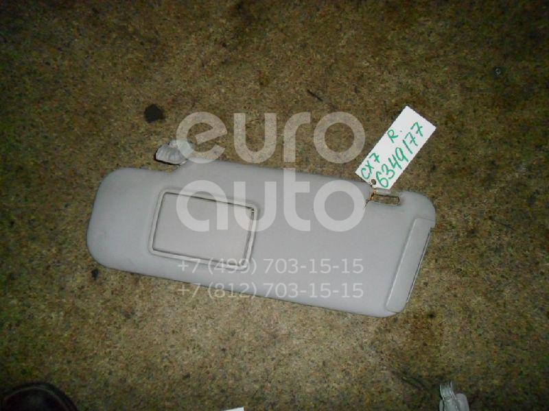 Козырек солнцезащитный (внутри) для Mazda CX 7 2007> - Фото №1