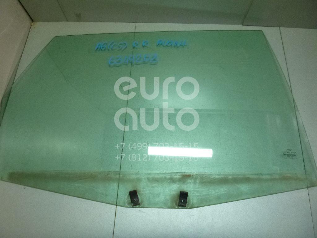 Стекло двери задней правой для Audi A6 [C5] 1997-2004;Allroad quattro 2000-2005 - Фото №1