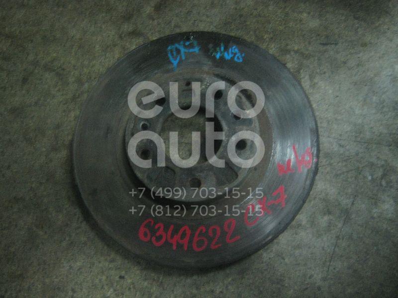Диск тормозной передний вентилируемый для Mazda CX 7 2007-2012 - Фото №1