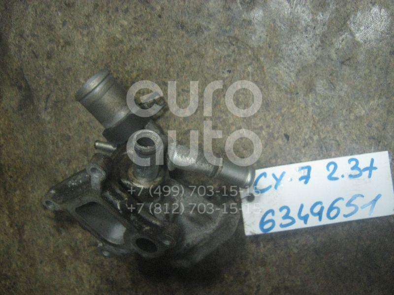 Фланец двигателя системы охлаждения для Mazda CX 7 2007-2012;Mazda 6 (GG) 2002-2007 - Фото №1
