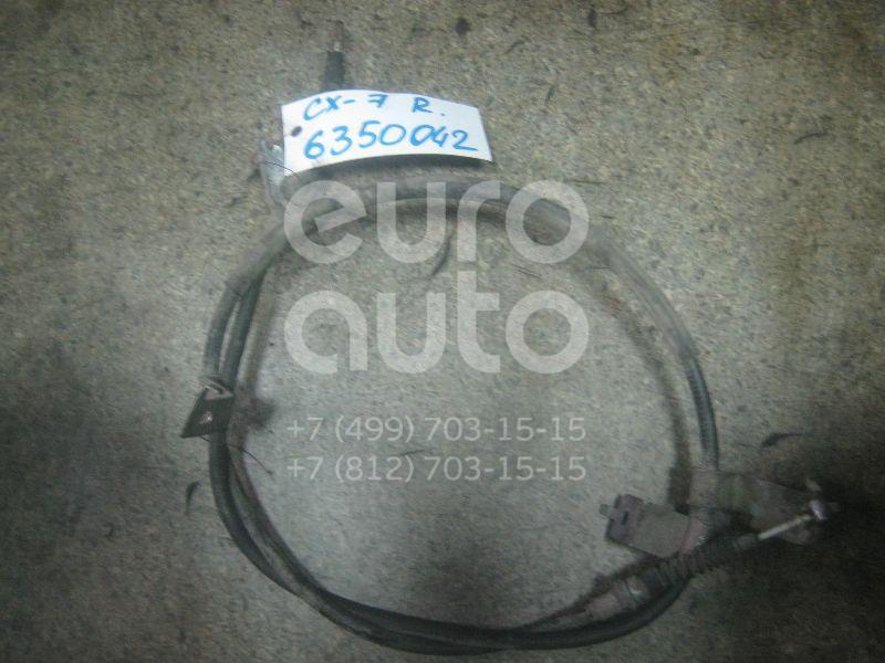 Трос стояночного тормоза правый для Mazda CX 7 2007-2012 - Фото №1