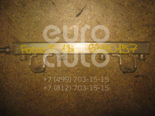 Рейка топливная (рампа) для Ford Focus II 2005-2008;Fusion 2002>;C-MAX 2003-2011;Mondeo III 2000-2007;Fiesta 2001-2007;V50 2004>;S-MAX 2006>;Mondeo IV 2007-2015;Focus II 2008-2011 - Фото №1