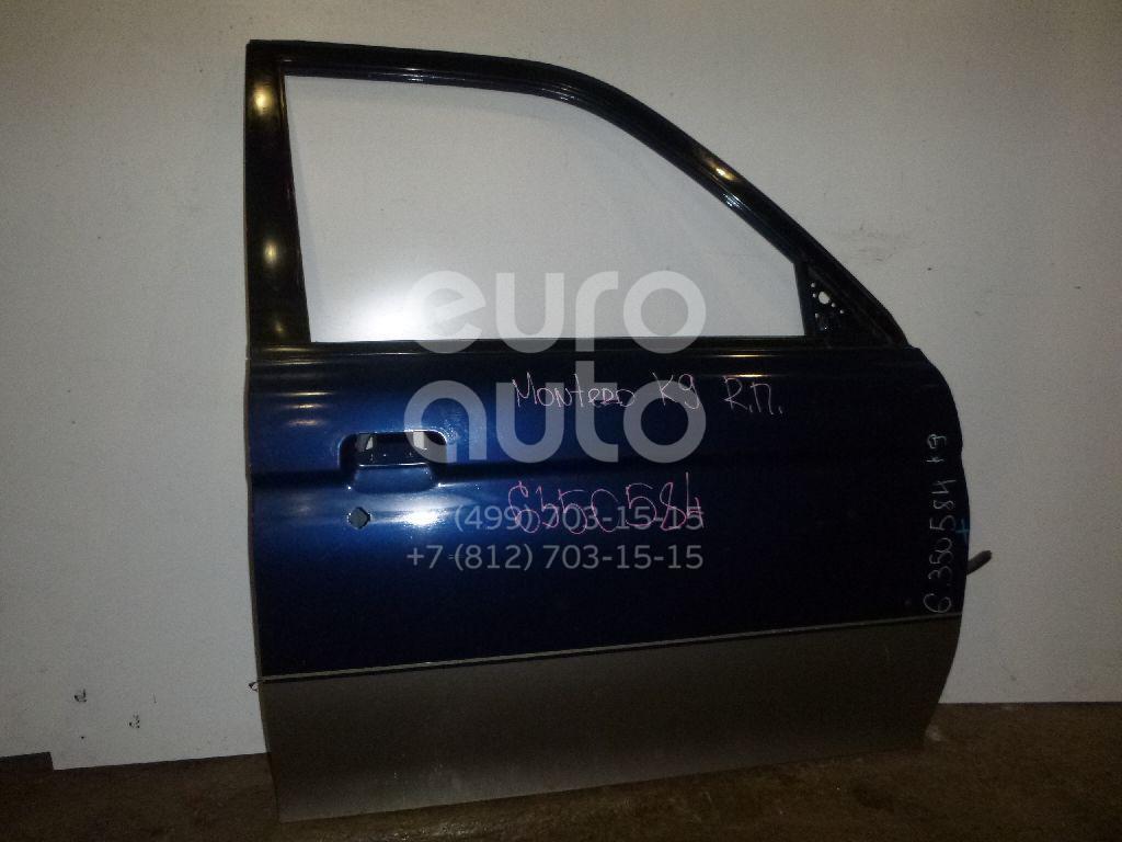 Дверь передняя правая для Mitsubishi Pajero/Montero Sport (K9) 1997-2008 - Фото №1