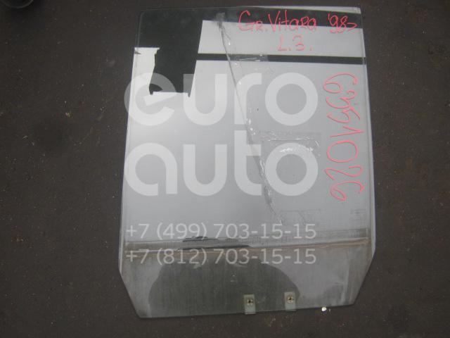 Стекло двери задней левой для Suzuki Grand Vitara 1998-2005 - Фото №1