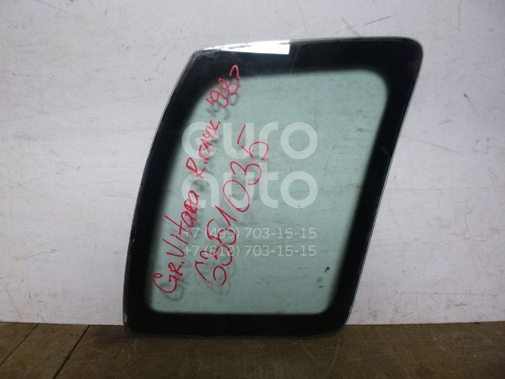 Стекло кузовное глухое левое для Suzuki Grand Vitara 1998-2005 - Фото №1