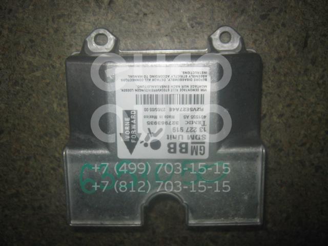 Блок управления AIR BAG для Opel Astra H / Family 2004> - Фото №1