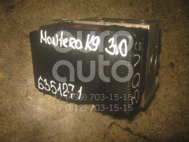 Блок ABS (насос) для Mitsubishi Pajero/Montero Sport (K9) 1997-2008 - Фото №1