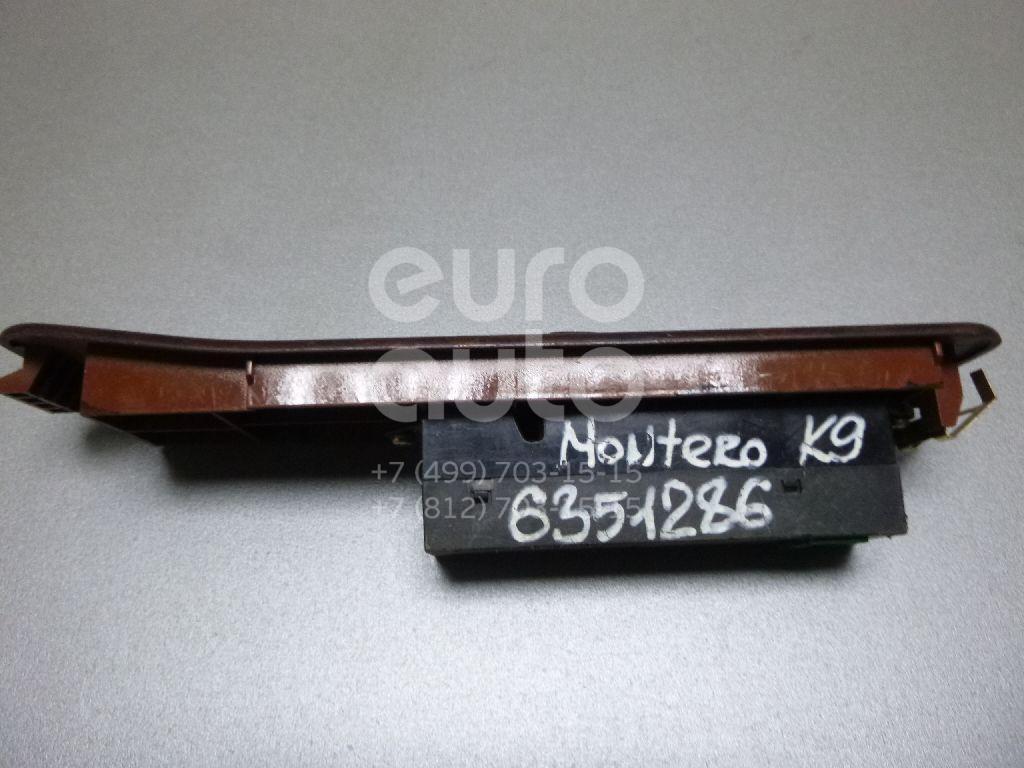 Кнопка стеклоподъемника для Mitsubishi Pajero/Montero Sport (K9) 1997-2008 - Фото №1