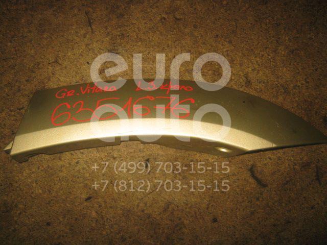 Накладка заднего крыла левого для Suzuki Grand Vitara 1998-2005 - Фото №1
