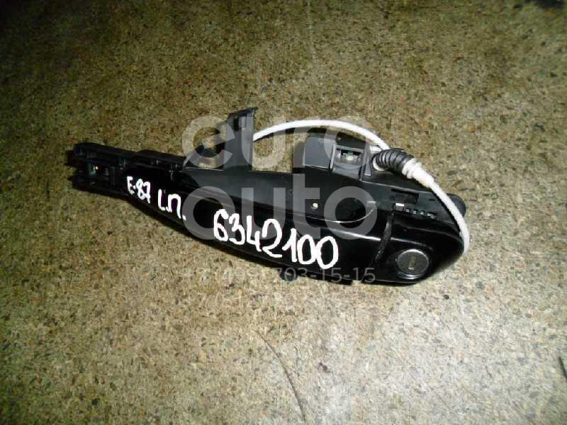 Ручка двери передней наружная левая для BMW 1-серия E87/E81 2004-2011 - Фото №1