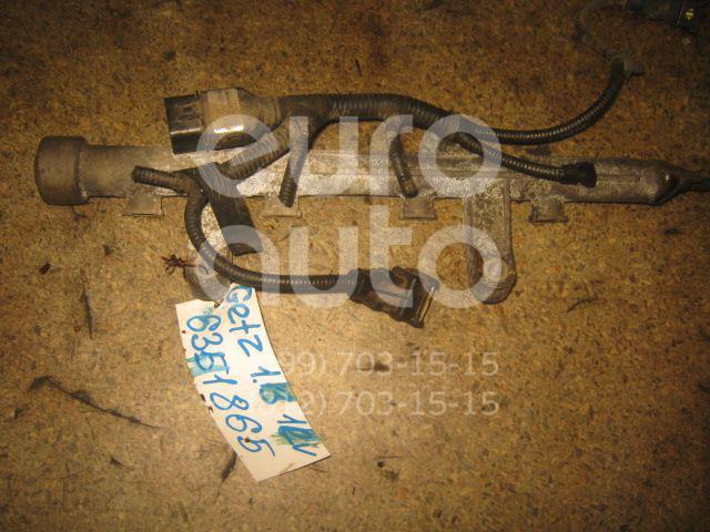 Рейка топливная (рампа) для Hyundai Getz 2002-2010;Accent II (+ТАГАЗ) 2000-2012 - Фото №1