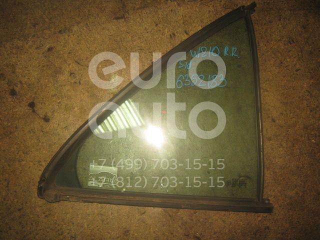 Стекло двери задней правой (форточка) для Mercedes Benz W210 E-Klasse 2000-2002;W210 E-Klasse 1995-2000 - Фото №1
