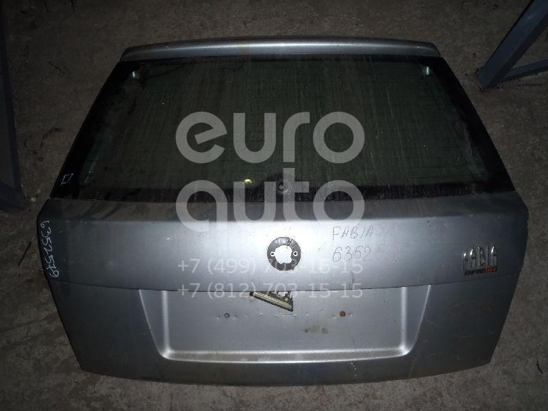 Дверь багажника со стеклом для Skoda Fabia 1999-2006 - Фото №1